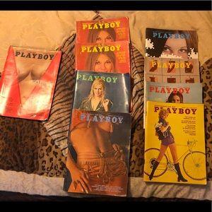 Vintage PLAYBOY magazines